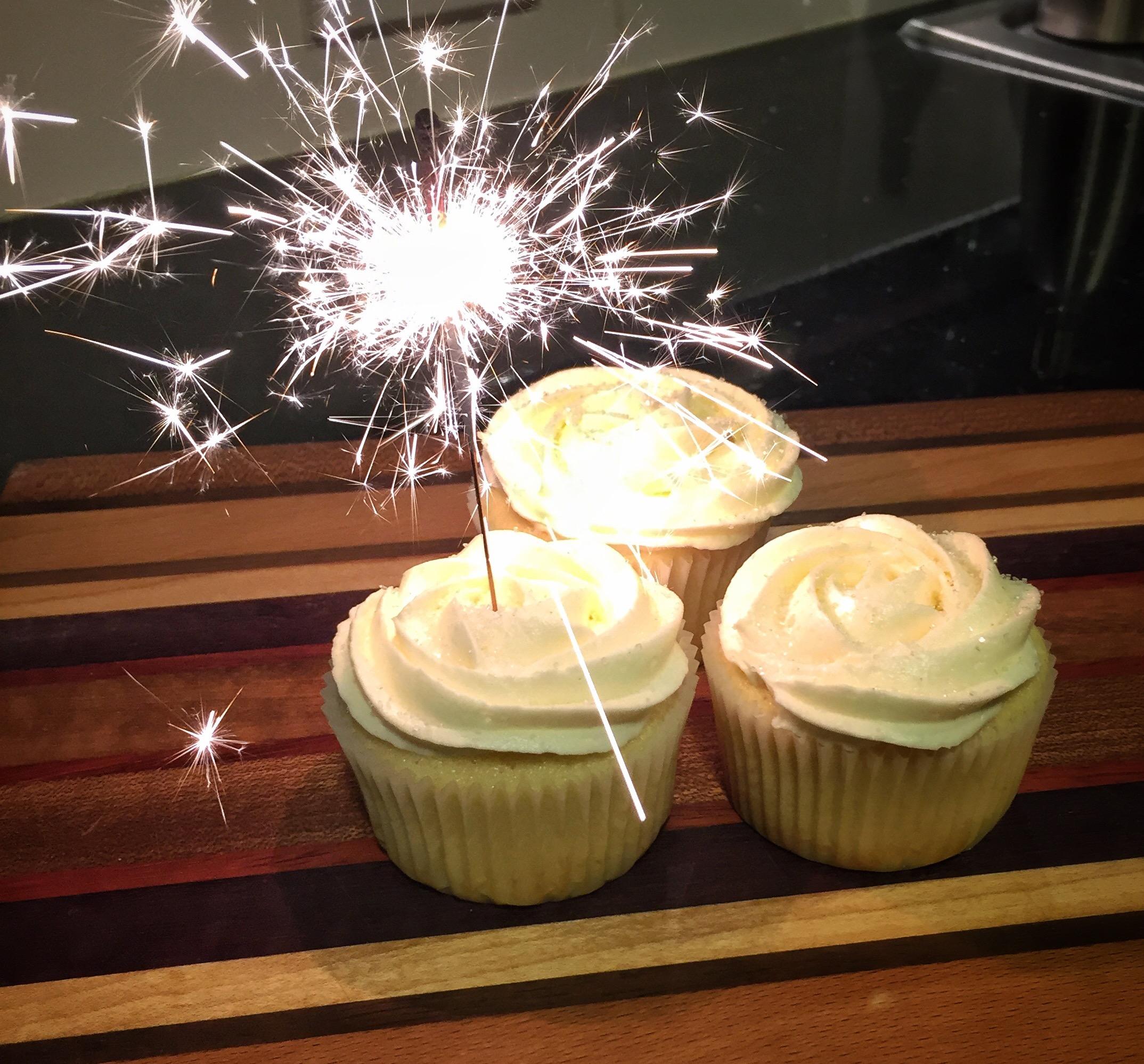 Hello 2017 And Vanilla Buttermilk Cupcakes Davik Sweets